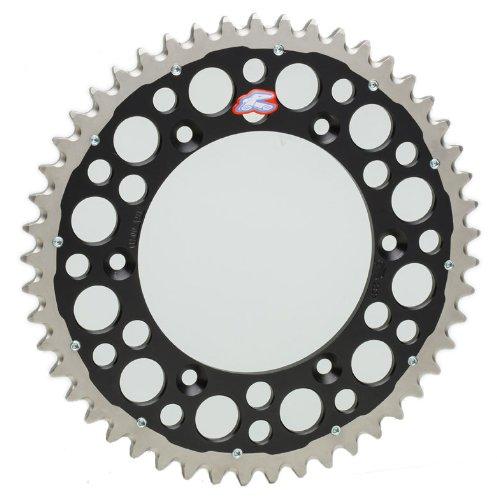 Renthal 1540-520-49GPBK Twinring Black 49 Tooth Rear ()