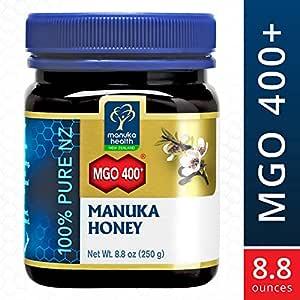 Manuka Health - MGO 400+ Manuka Honey, 100% Pure New Zealand Honey, 8.8 oz (250 g) (FFP)