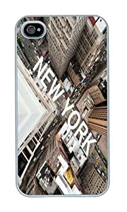 Iphone 4S Case New York Cell Phone Case For Iphone 4s PC White Phone Hard Case