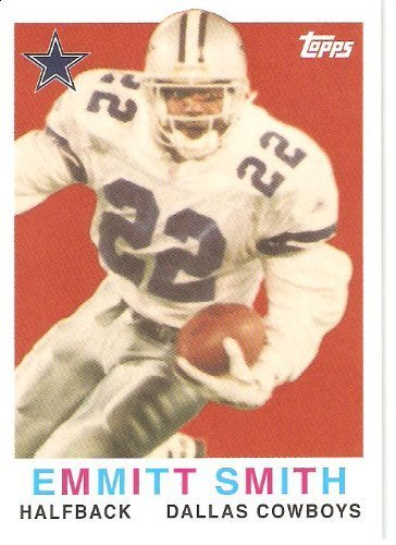 - 2008 Topps Turn Back the Clock #34 Emmitt Smith - Dallas Cowboys (Football Cards)