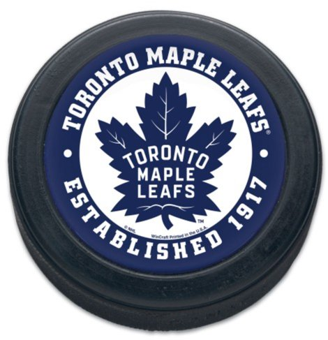 WinCraft NHL Toronto Maple Leafs Official NHL Official Size Hockey Puck By