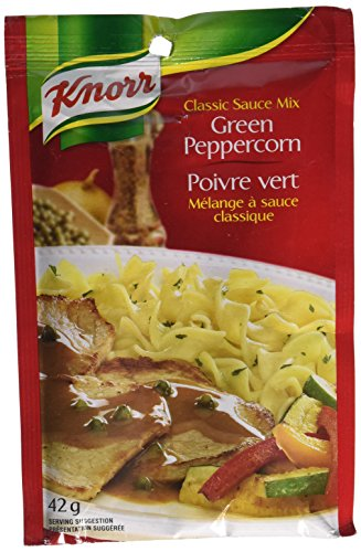 (Knorr Green Peppercorn Sauce Mix 6x42g {Imported from Canada})
