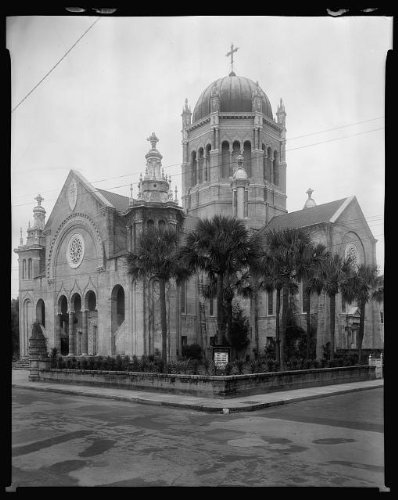 Photo: Flagler Memorial Presbyterian Church, Saint Augustine, St Johns County, FL, 1936 5 . Size: - In Fl Augustine Shopping St