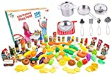kitchen accessories toys - kids play kitchen accessories sets kids pots and pans set with plastic food by jogo jogo kitchen sets. kids play food for kids kitchen utensils set kitchen play set pretend food play