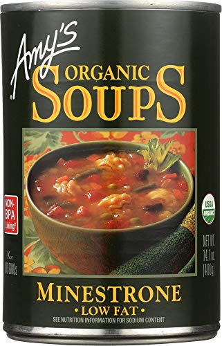 - (NOT A CASE) Organic Soup Low Fat Minestrone