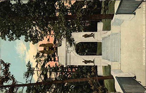 Memorial Arch, Island Grove Park Abington, Massachusetts Original Vintage Postcard