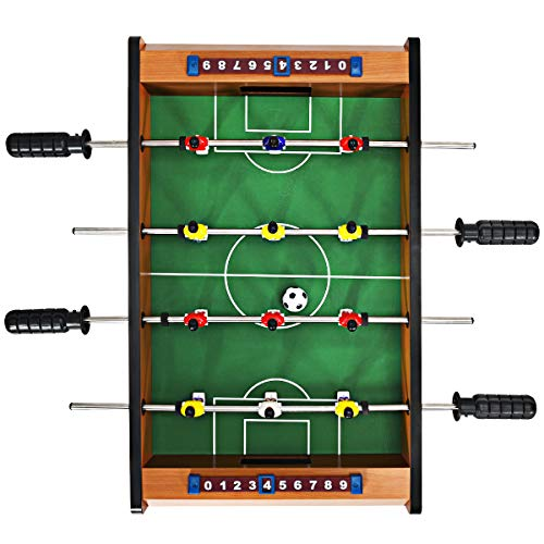 "Giantex 20"" Foosball Soccer Competition Table Top Set Game Room Sport"