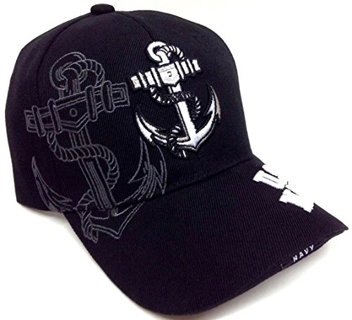 Black Anchor United States Navy Hat (United States Navy Hat Cap)