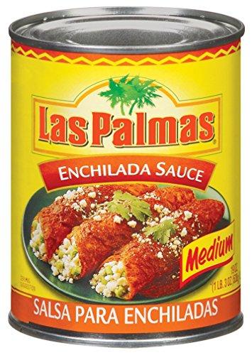 Las Palmas Enchilada Sauce, Medium, 19 Ounce (Pack of 12) Las Palmas Chili Sauce