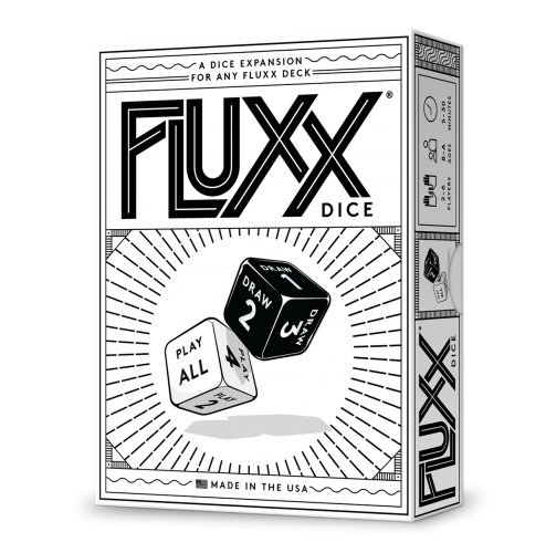Looney Labs Fluxx Dice Expansion Card Game - Roll Laboratories