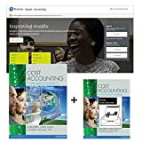 Cover of Value Pack Cost Accounting + MyAccountingLab Update + eText