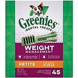Cheap Greenies Lite Petite Dog Dental Chew 27oz 45ct