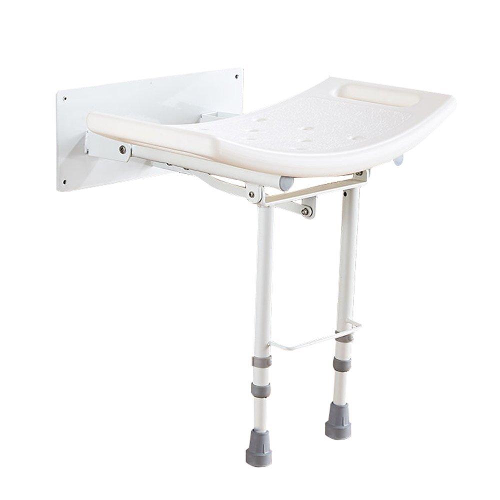 入園入学祝い バス椅子アルミ合金調節可能な折りたたみスツール肘掛け付き高齢者のトイレ滑り止め壁掛けバススツールウォールチェア B07G189WFV B07G189WFV, 厨房用品のプロショップ ナガヨ:01193531 --- ciadaterra.com