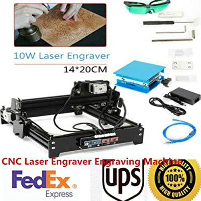 DIY CNC Engraver Router, Desktop USB Carving Engraving Machine, Metal Stone Wood Drilling Milling Machine Cutter, Portable Household Art Craft Leather Plastics Engraver Printer