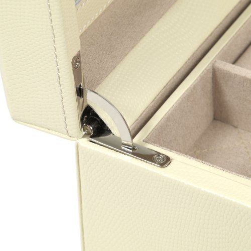 WOLF 315253 London Square Jewelry Box, Cream by WOLF (Image #3)