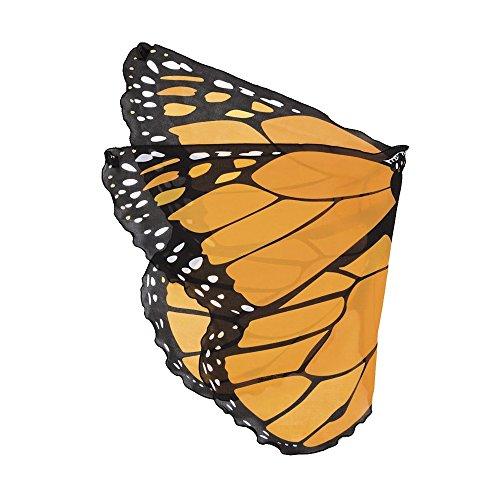 Monarch Wings, in Orange ()