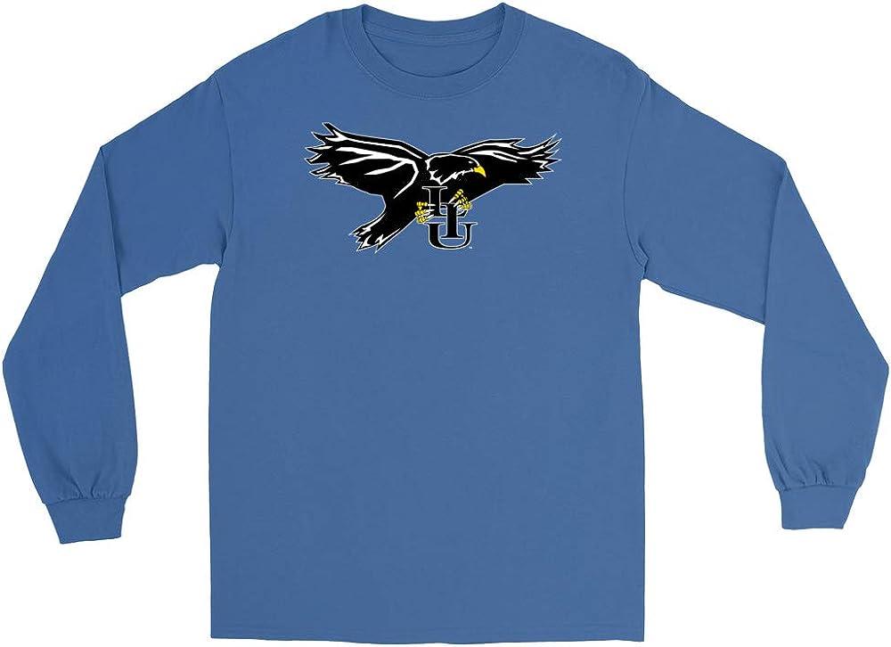 Official NCAA Long Island University Blackbirds PPLIU08 Mens//Womens Premium Triblend T-Shirt