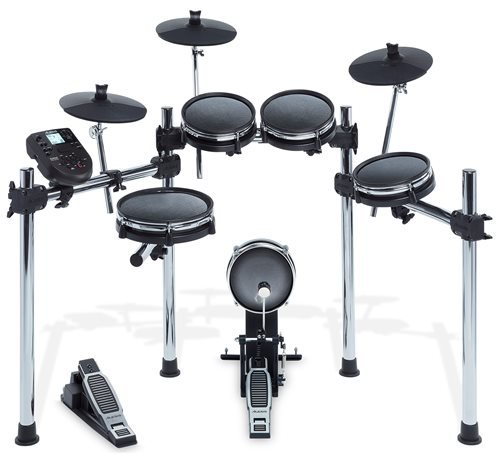 Alesis Surge Mesh Kit | Eight-Piece Electronic Drum Kit with Mesh Heads (10