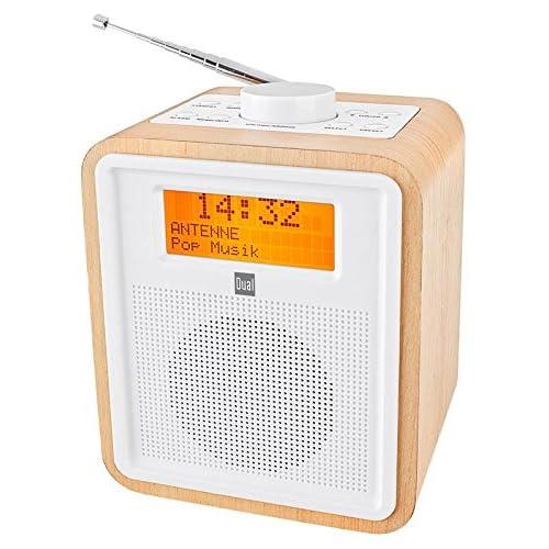 Dual Dab CR 27 Radio Dab Am FM LCD 3 5 mm Color marrón Importado