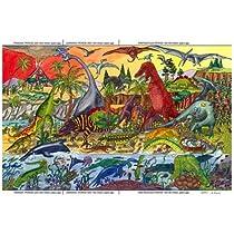 Bigjigs Toys BJ012a Dinosaur Floor Puzzle (24 Piece)