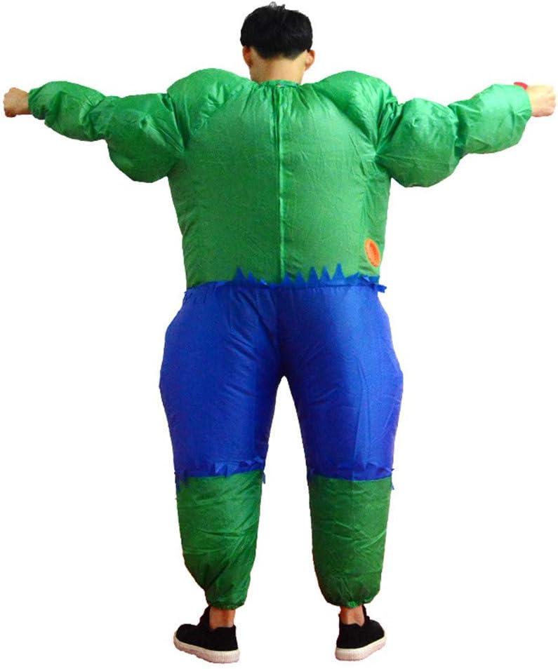 YBBDHD Disfraz De Hulk Inflable Fiesta De Bar para Adultos Parodia ...