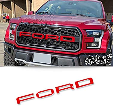 NEW 3D Carbon Fiber Vinyl Car Wrap Sticker Decals Film For Ford 150 250 Raptor