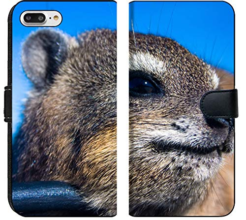 - Apple iPhone 8 Plus Flip Fabric Wallet Case Image ID: 5025156 Close up Shot of a Rock Dassie on top of Table Mountain Cape Town Sou