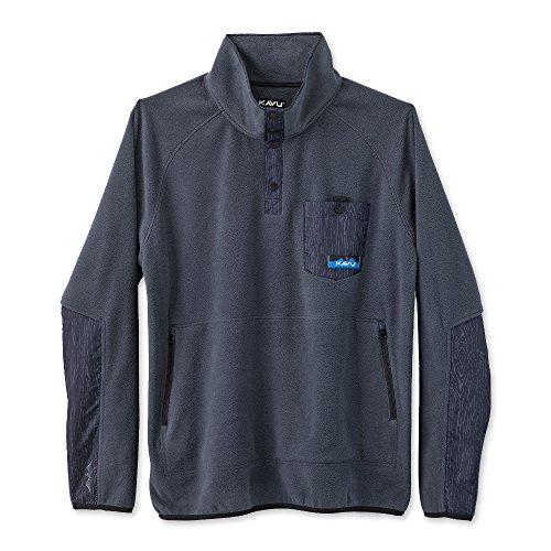 KAVU Mens Sweatshirt Teannaway - Charcoal - XXL ()