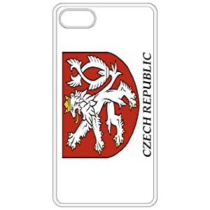 Lesser Czech Republic Coat Of Arms Flag Emblem White Apple Iphone 4 - Iphone 4s Cell Phone Case - Cover