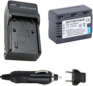 Cámara de batería cargador para Panasonic sdr-s50 sdr-s70