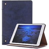 Apple iPad Mini 4 Case,elecfan Book Style Multi Function Screen Protective with Smart Auto Sleep/Wake Feature Case Vegan Cover For Apple iPad Mini 4 Navy Tablet (iPad Mini 4, Blue)