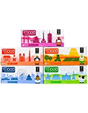 Mood 3 PLY Japanese Doll Box Tissue, 100ct (Pack of 5)