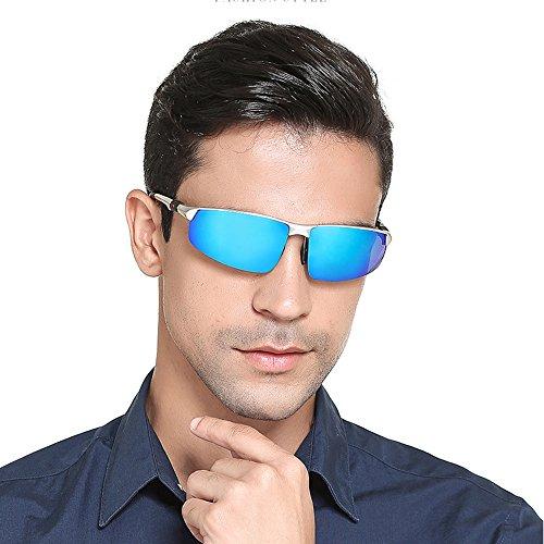 Soleil Hommes Ice Lunettes UV PolariséEs Protection Blue De 100 pour De Lunettes TESITE EqUpw