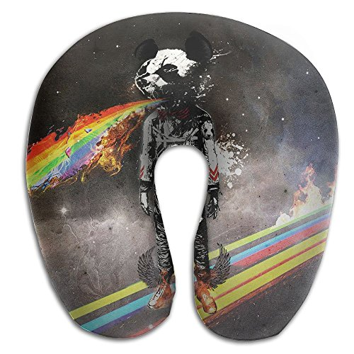Laurel Neck Pillow Space Astronaut Travel U-Shaped Pillow Soft Memory Neck Support for Train Airplane Sleeping -