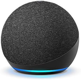 All-new Echo Dot (4th generation) International Version   Smart speaker with Alexa   Charcoal