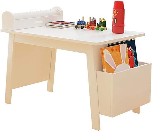 OTENGD Escritorio de Arte de Madera para niños, Mesa de Arte de ...