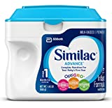 Similac Advance Infant Formula with Iron, Baby Formula, Powder, 1.45 lb (Pack of 6)