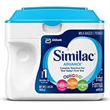 Similac Advance Infant Formula with Iron, Stage 1 Powder, 23.2 Ounces (Pack of 6)