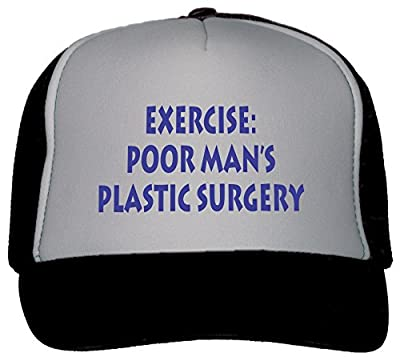 T-ShirtFrenzy Exercise: Poor Man's Plastic Surgery Trucker Hat Cap
