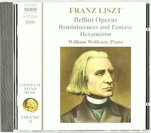 Liszt Complete Piano Music, Volume 31