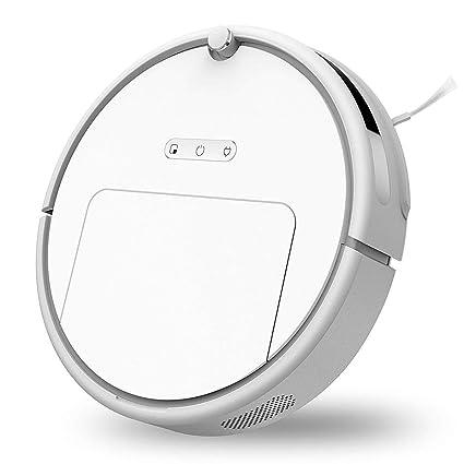 Ydq Robot Aspirador con Sensores Infrarrojos, Sensores Anticaída Y Barrera Virtual Magnética, Programable con