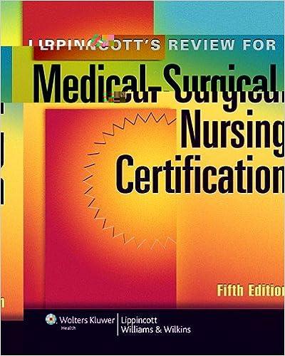 Lippincott\'s Review for Medical-Surgical Nursing Certification (LWW ...