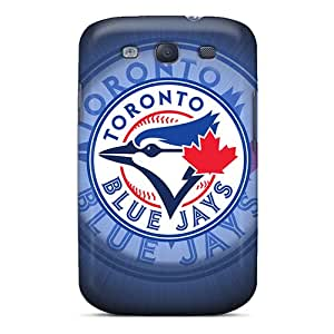 Galaxy S3 TFT23061KBnC Allow Personal Design Nice Toronto Blue Jays Series Protective Hard Phone Cover -best-phone-covers