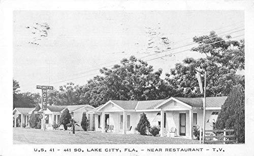Lake City Florida Palmetto Motel Vintage Postcard JA455926]()