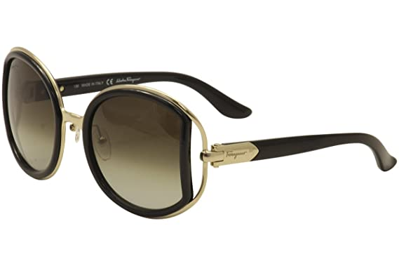 8ba1322435 Image Unavailable. Image not available for. Color  Salvatore Ferragamo  SF719S-001 Ladies Black SF719S Sunglasses