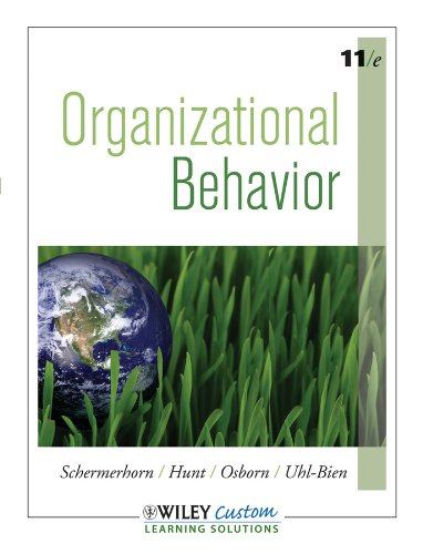 Organizational Behavior 11th Edition (Paperback) b