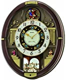 Seiko Danube Melodies in Motion Wall Clock - 15.75 in. Wide