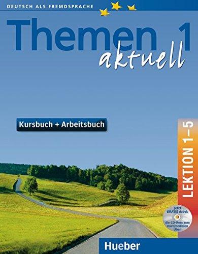 (Themen aktuell 1. Kursbuch und Arbeitsbuch. Lektion 1 - 5. Mit CD. Deutsch als Fremdsprache. Niveaustufe A 1. (Lernmaterialien) (Bk. 1) (German Edition))