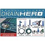 Drain Hero Complete Drain Kit for Waterbed Flotation Mattress
