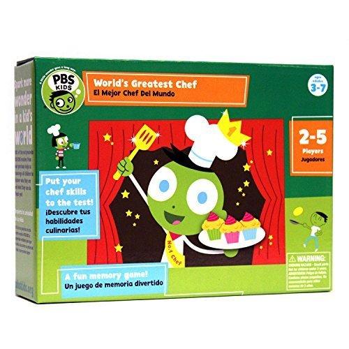 ahorrar en el despacho PBS KIDS Worlds Greatest Chef Memory Game Game Game by PBS KIDS,Whole Foods  descuento de ventas en línea